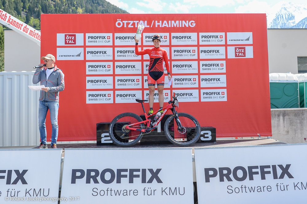 Sieg beim PROFFIX Swiss Bike Cup in Haiming